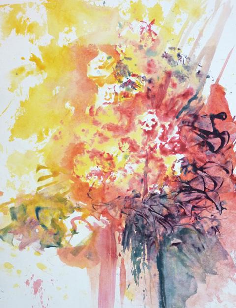 Malkurs Blumen - Blumenmalkurs - Aquarell