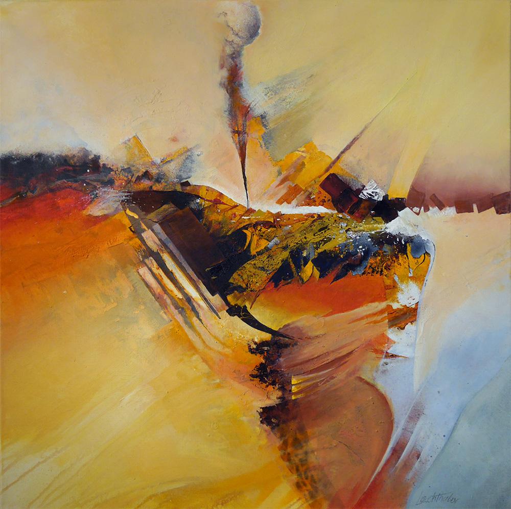 Acryl Berge - Walter Lechthaler